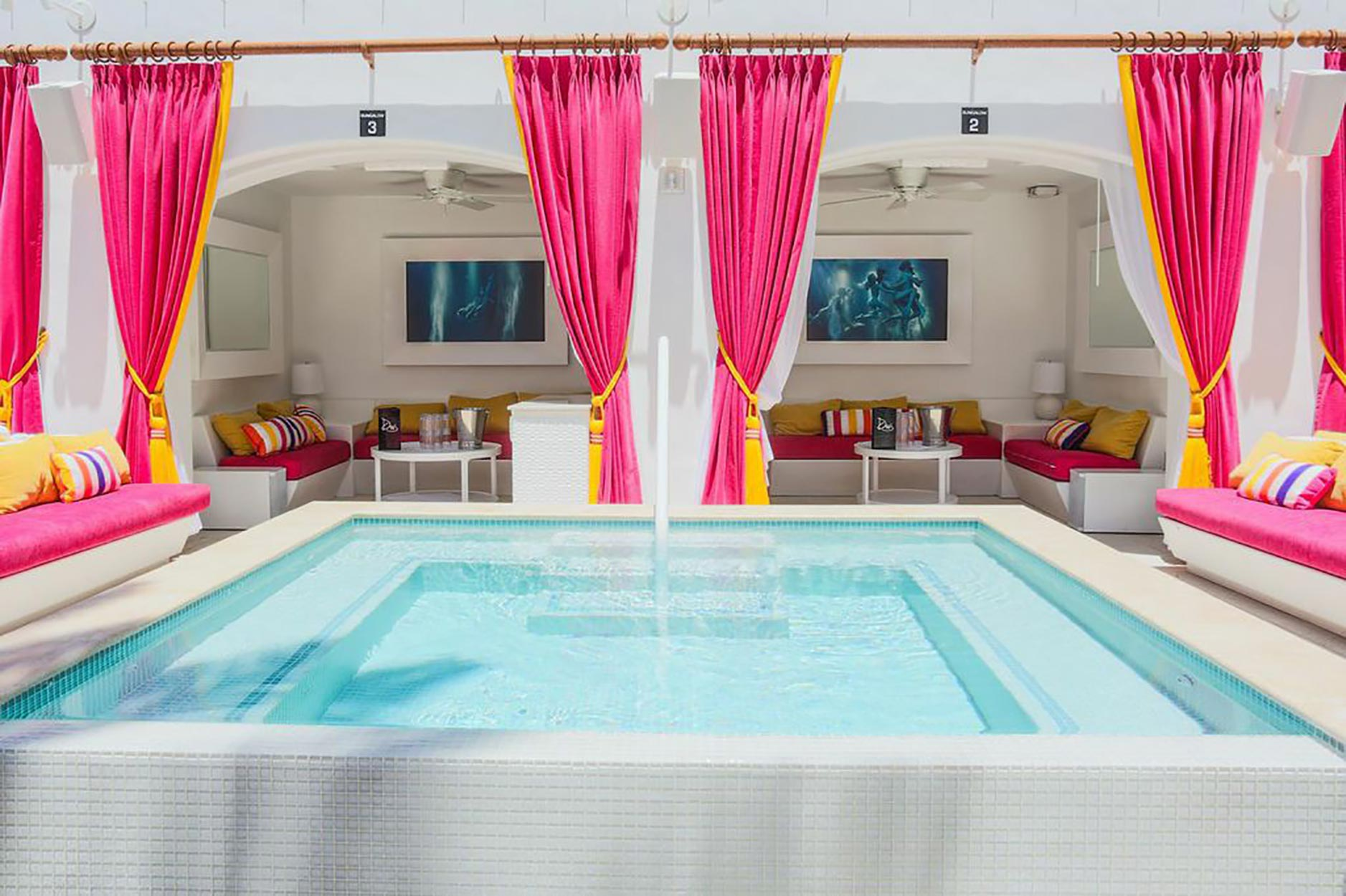 drais beach club vip tables daybeds cabanas vip host