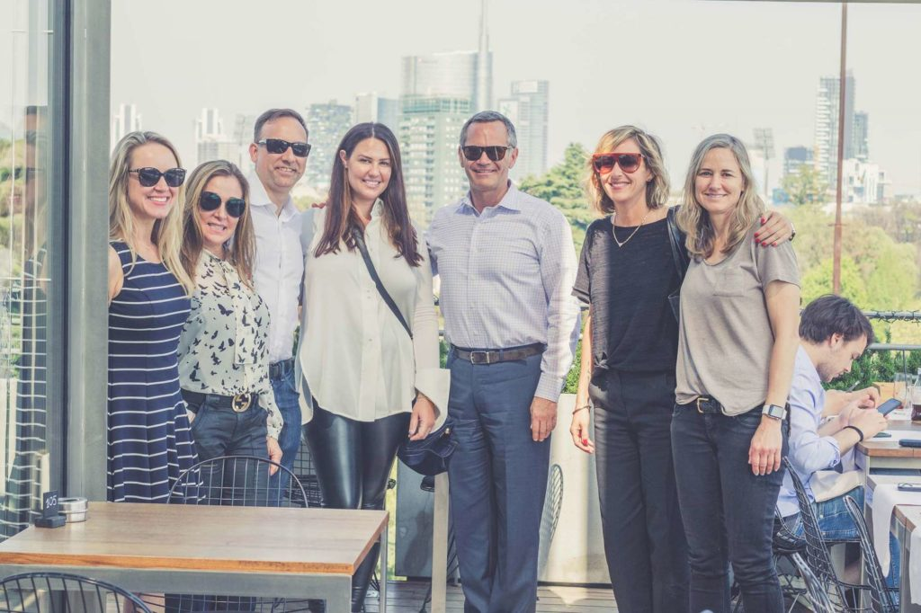 KBFA Luncheon at Terraza Triennale Milan Design Week 2018