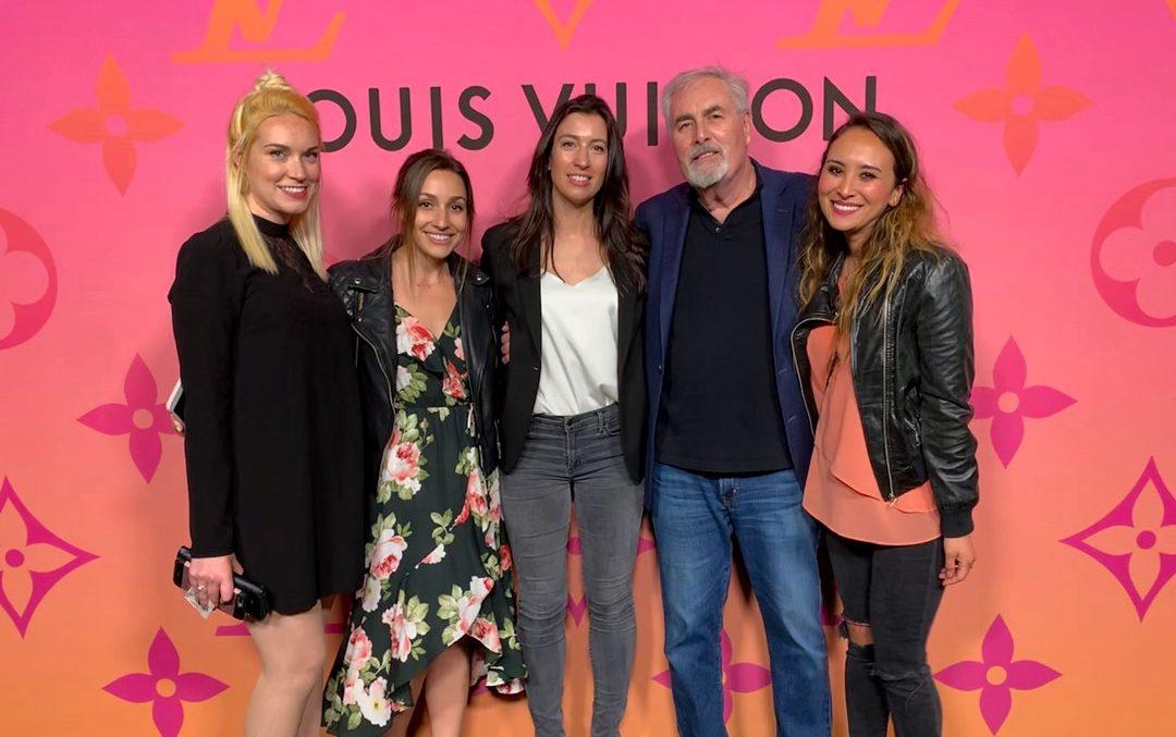 KBAA at the Louis Vuitton X Opening Night