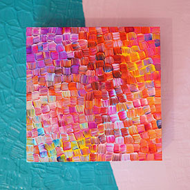 Ingrid Ching multicolored wall art