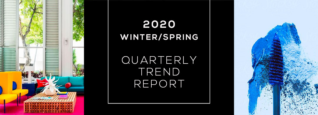 Top Interior Design Trends for Winter/Spring 2020