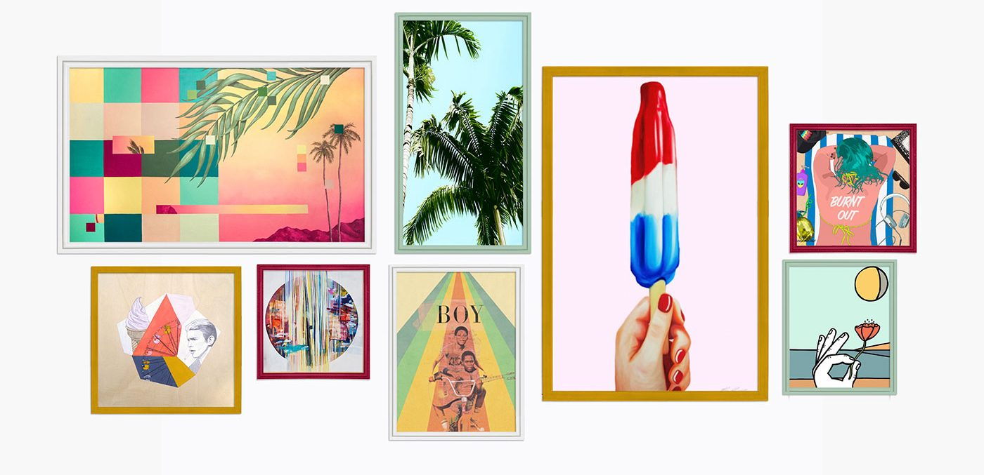 Summer Gallery Wall Inspiration