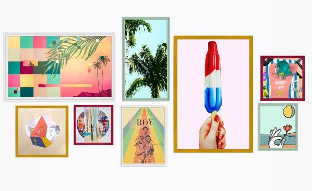 Summer Gallery Wall Inspiration